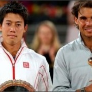 BBC Sport - Rafael Nadal wins Madrid Masters after Kei Nishikori retires