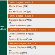 Roland Garros 2014 - The French Open - Official Site presented by IBM - Schedule of Play