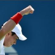 "BBC Tennis on Twitter: ""錦織圭, 優勝. Kei Nishikori, winner. 6-4 1-6 7-6 6-3 #bbctennis http://t.co/MjtkHARQBK"""