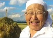 """四季リンリン♪さんはTwitterを使っています: """"#鉄腕DASH #福島DASH村 三瓶明雄さん……あなたの息子たちは、念願の【新男米の一等米】を収穫しましたよ。 宝石みたいな米だって。 合掌。 ht..."""