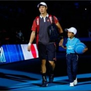 """Tennis PhotosさんはTwitterを使っています: """"Kei Nishikori: """"The 3rd set was almost perfect. I served well and everything worked well in the final set."""" http://t.co/wq1bWEtFzn"""""""