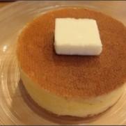 銀座 雪ノ下 メロン氷、パンケーキ発酵バター | パンケーキ 練乳ミルクの白 | 銀座でランチ
