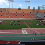 """有森裕子さんはTwitterを使っています: """"真の「心」ある、「真・国立競技場」が次生まれる事を切に願う。 http://t.co/2iRJjdlKx0"""""""