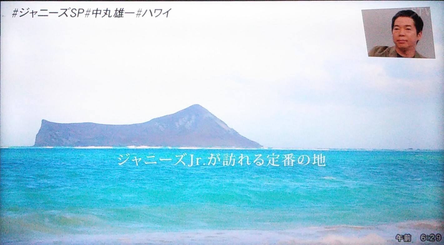 ジャニーズジュニアが行くハワイ